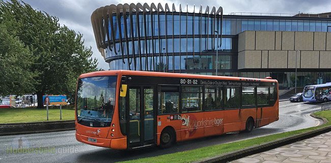 Huddersfield guide information travel places to go for 85 bus timetable